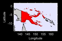 Papua New Guinea Local Context Map