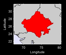 Rajasthan Local Context Map