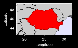 Romania Local Context Map