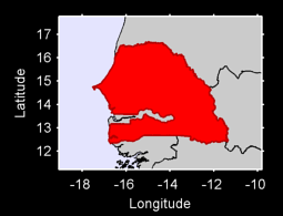 Senegal Local Context Map