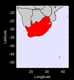South Africa Local Context Map