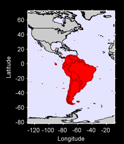 South America Local Context Map