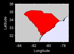 South Carolina Local Context Map