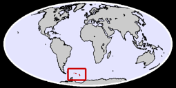 South Georgia and the South Sandwich Isla Global Context Map
