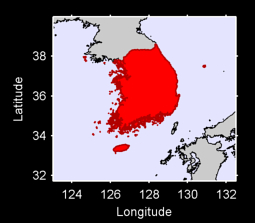 South Korea Local Context Map