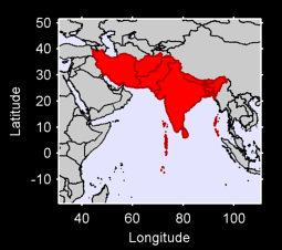 Southern Asia Local Context Map