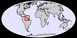 Suriname Global Context Map