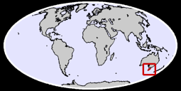 Tasmania Global Context Map