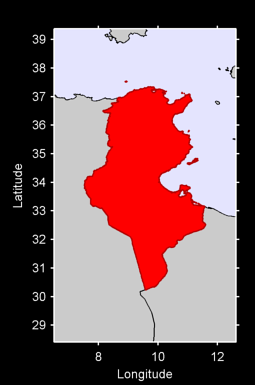 Tunisia Local Context Map