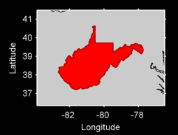 West Virginia Local Context Map