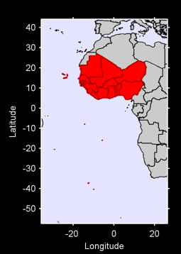 Western Africa Local Context Map