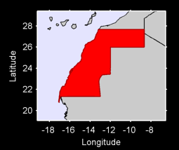 Western Sahara Local Context Map