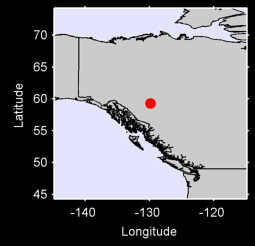 CASSIAR,BC Local Context Map