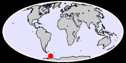 FARADAY (ARGENTINE IS.) U.K. Global Context Map