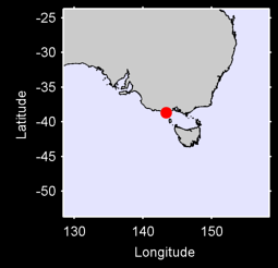 CAPE OTWAY (LIGHTHOUSE)/V Local Context Map