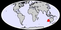 LEONORA POST OFFICE Global Context Map