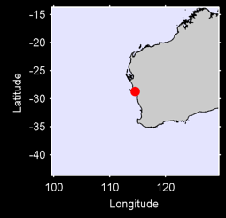 GERALDTON AIRPORT M.O./W. Local Context Map