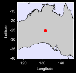 CURTIN SPRINGS Local Context Map