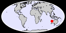 LEARMONTH AIRPORT Global Context Map
