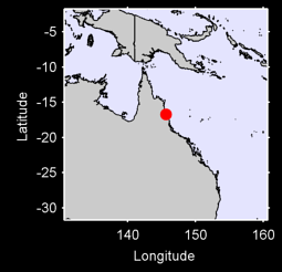 CAIRNS (AIRPORT)    /QLD. Local Context Map