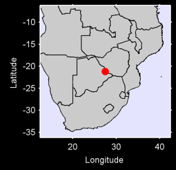 FRANCISTOWN Local Context Map