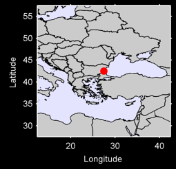 BOURGAS Local Context Map