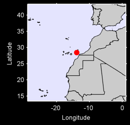 FUERTEVENTURA/AEROPUERTO Local Context Map