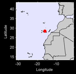 TENERIFE/LOS RODEOS CANARY ISL Local Context Map