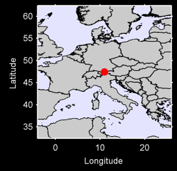 ZUGSPITZE GERMANY FED.REP.OF Local Context Map