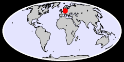 BERLIN-DAHLEM GERMANY FED.REP. Global Context Map