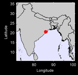 CUTTACK Local Context Map