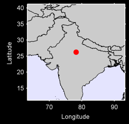 GWALIOR Local Context Map