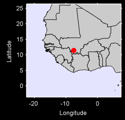 BOUGOUNI            MALI  BOUG Local Context Map