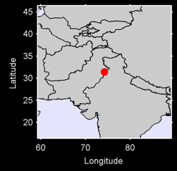 LAHORE (CITY) Local Context Map