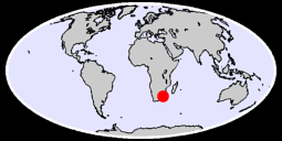 CAPE ST. LUCIA Global Context Map