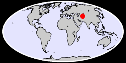 DUSHANBE Global Context Map