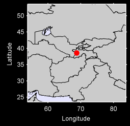 DUSHANBE Local Context Map