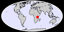 TABORA AIRPORT Global Context Map