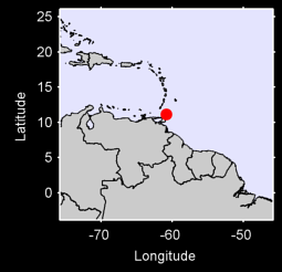 CROWN POINT AIRPORT,  TOBAGO Local Context Map