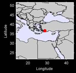 DALAMAN/MUGLA Local Context Map