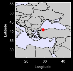 ISTANBUL (GOZTEPE) Local Context Map