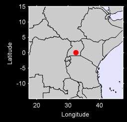 ENTEBBE AP UGANDA E. AFRICA Local Context Map