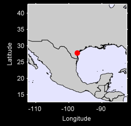 CORPUS CHRISTI/INT.,  TX. Local Context Map
