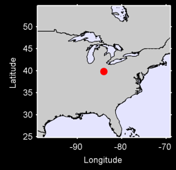 DAYTON/WRIGHT-PATTERSON AFB, OH. Local Context Map