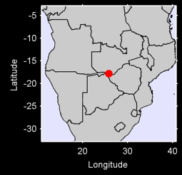 LIVINGSTONE    RHODESIA/ZAMBIA Local Context Map
