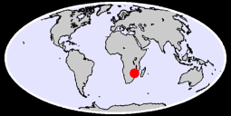 CHIPINGE AIRPORT Global Context Map