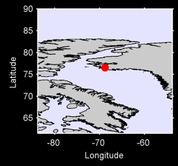 THULE GREENLAND/ORIGINAL SITE Local Context Map