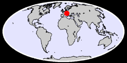 AVIANO (USAF) Global Context Map
