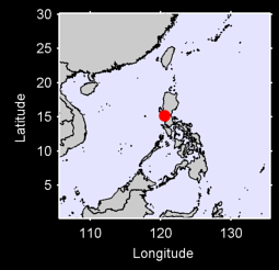 CLARK AFB, LUZON Local Context Map