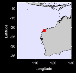 ONSLOW AUSTRALIA W. Local Context Map